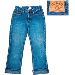 Fiorucci 90's Straight Leg Vintage Jeans  Sz 9
